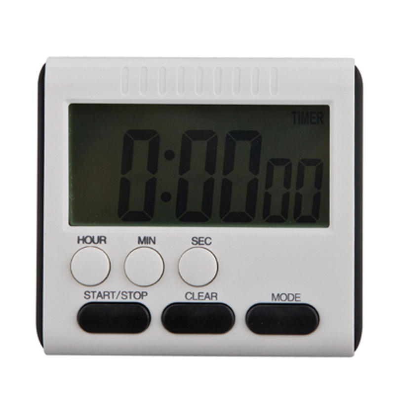 Cooking Timer Digital Square Magnetic Large LCD Kitchen Timer Count Up Down Loud Cooking Alarm Clock 24 Hours with Stand