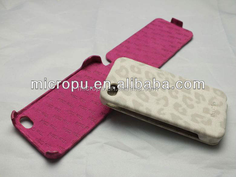 yuhua news microfiber faux leather for iphone back cover
