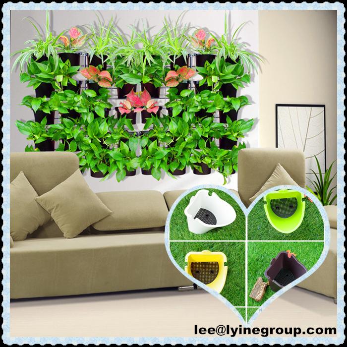Jardinera de plastico caja de pared al aire libre plantación 2016