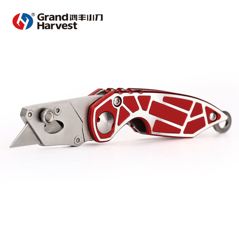 red utility SK5 Folding Fixed Utility Knife