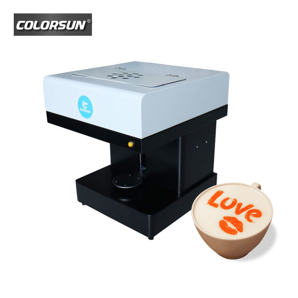 Latte Art Coffee Automatic Chocolate Selfie Coffee Printer Machine for tea small cake biscuits coffee cappuccino flower print