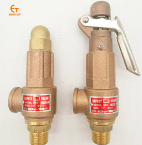 spring full lift thread connection brass bronze forging control high pressure reduce relief safety valve for boiler steam