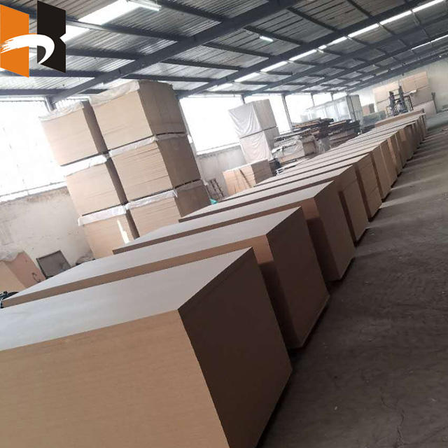 Furniture premium Melamine Raw Plain MDF Board