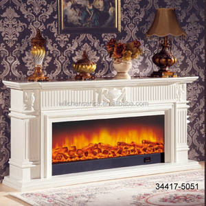 34417-2051 Wooden Fireplace