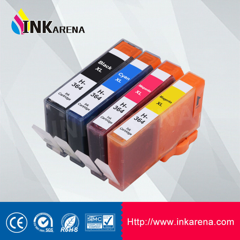 Inkarena 364XL Printer Kartrid Tinta Kompatibel untuk HP364 untuk HP Photosmart B010a B110a B110c B110e B111a Printer Cartridge