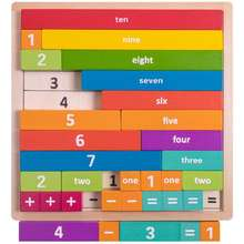 Math Learning Jigsaw for Kids and Toddlers Teaching Spatial Reasoning and Basic Mathematics STEM Tool