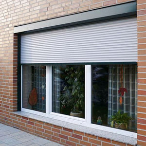 Aluminum window profile/aluminum windows with roller shutter