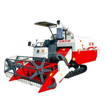 rice combine harvester of agricultural