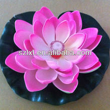 Lighted Up Floating Lotus