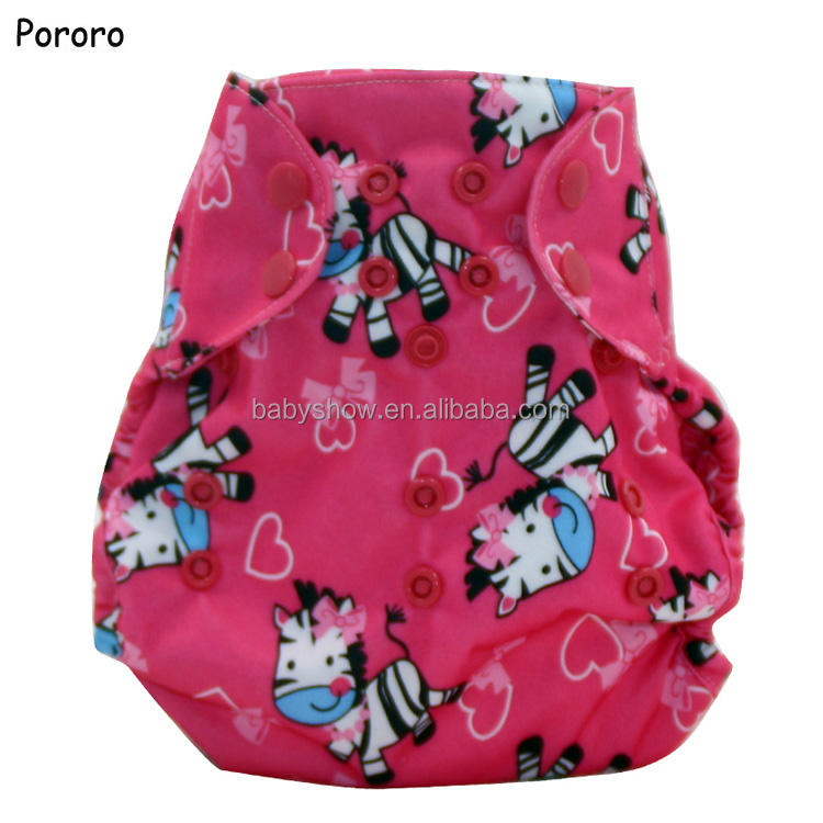 waterproof PUL one size fits newborn to 15kg baby cloth diaper nappy;washable reusable baby diaper cover diapers nappies