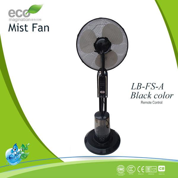 Nuevo diseño humectador ventilador de la niebla, agua de refrigeración del ventilador, el ventilador del aerosol