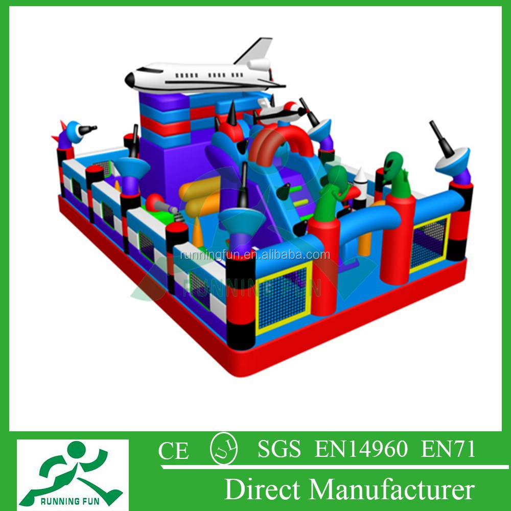 cheap inflatable amusement park, inflatable jumping castle for games