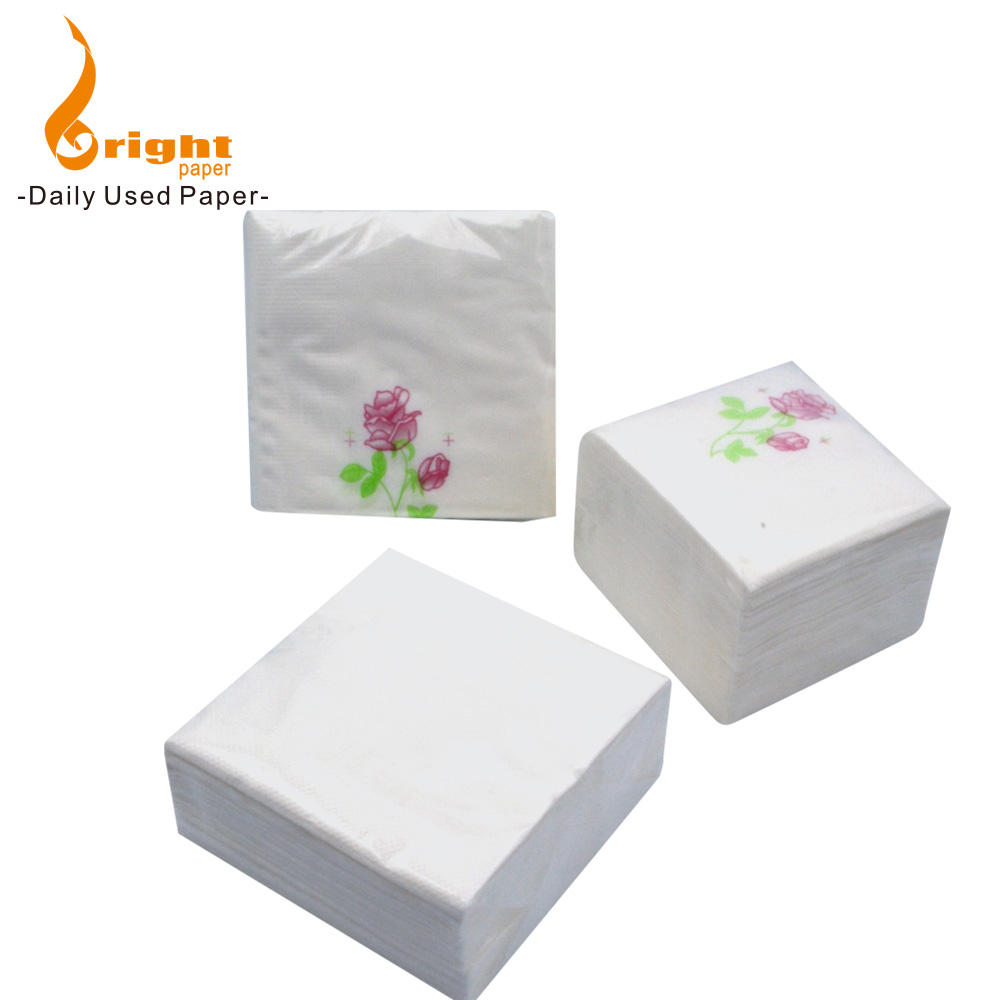 Wholesale 2 Ply Dinner Hotel Paper Napkin With Printing