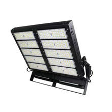 5years warranty dimmable large portable modular 800W 300 2000 watt led flood light led high mast led lighting with lifting syst