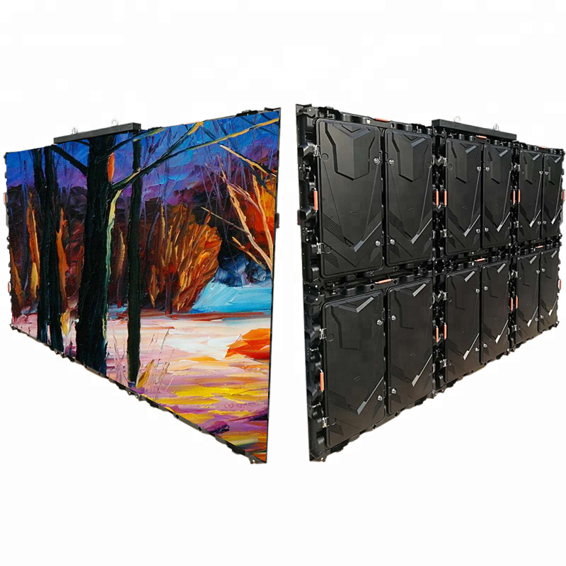 High Definition P10 Outdoor Full Color Smd Module Waterproof 960X960 Magnesium Alloy Display Cabinet Led