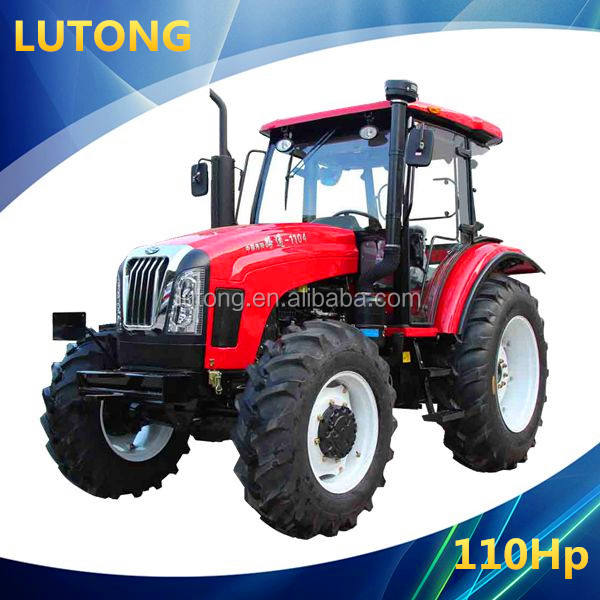 China Luoyang LuTong 110HP 4WD Cheap Wheel Farm Tractor LT1104 Produced by Factory