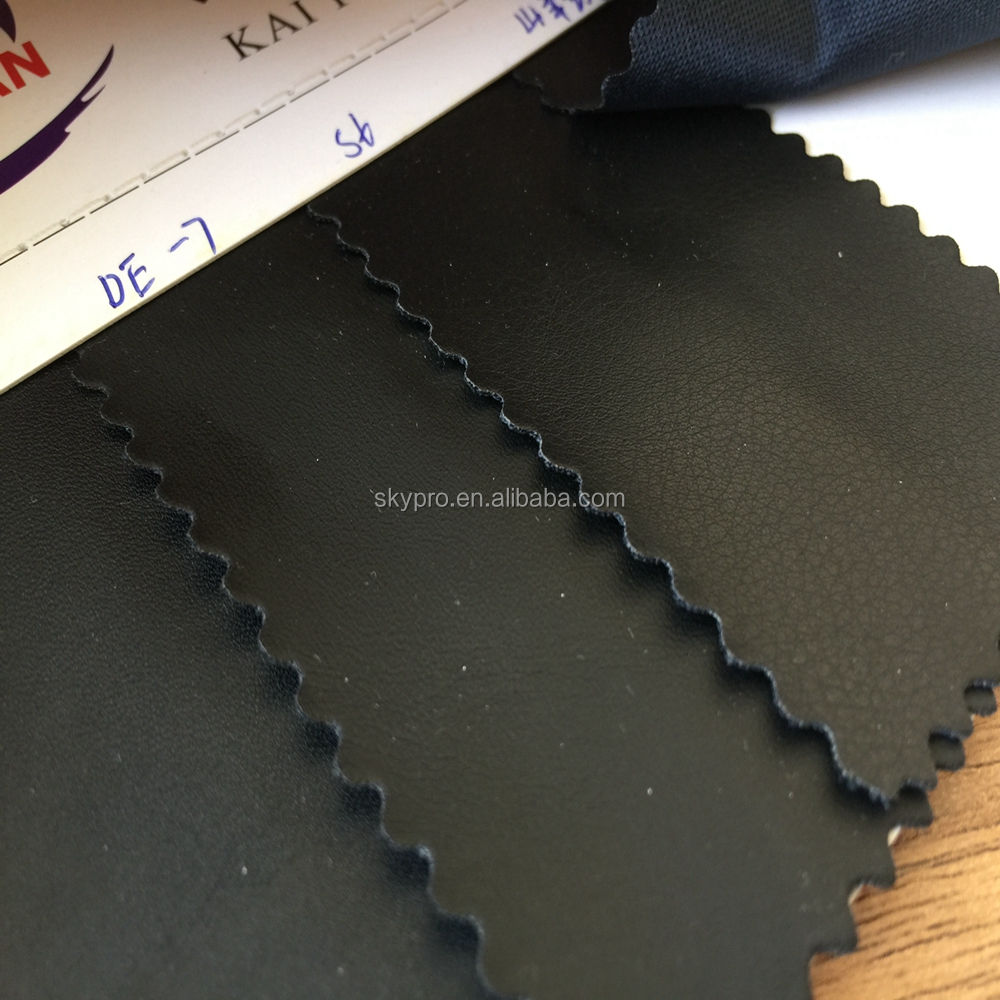 Wholesale super thin good elasticity highly stretchable bally tear resistance motorcycle seat PU leather