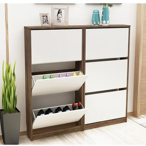 SELL TOP 2 professional supplier wooden cabinet design shoe rack for home