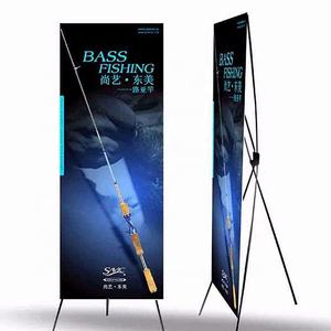 Exhibition Advertising X Tripod frame Banner Stand Display Model