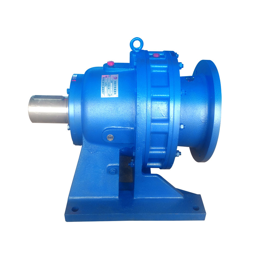 BWE series double reduction pin wheel cycloidal gear gearbox for printing machinery