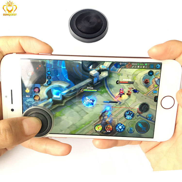 New Ultrathin Wireless Small Mini Fling Game Gamepad Controller Brands Mobile Phone Joystick For Touch Screen Mobile Phone