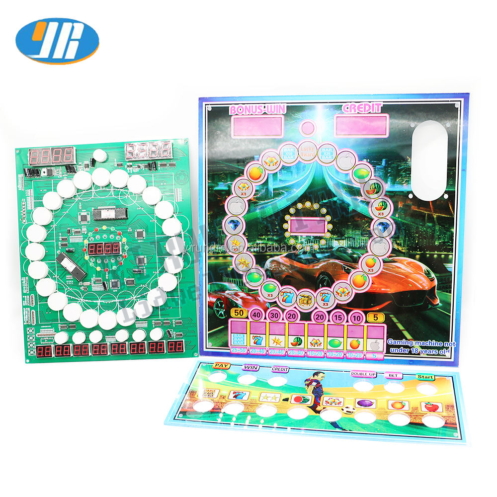 Hot Popular Mario Game Board Arcade PCB Board DIY Complete Kit