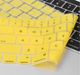 Radiation absorption silicone keyboard cover
