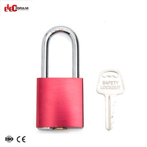 Red Color Aluminum Padlock Lock with Master Key