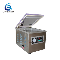 DZ-260 cheap price vacuum packaging machine for food