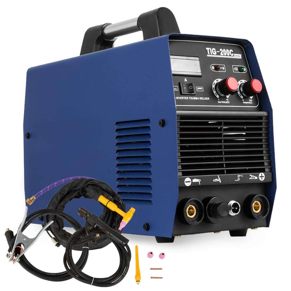Europe Stock 200AMP HF Start TIG/MMA 2 in 1 DC Inverter Welder/3 in1 welder