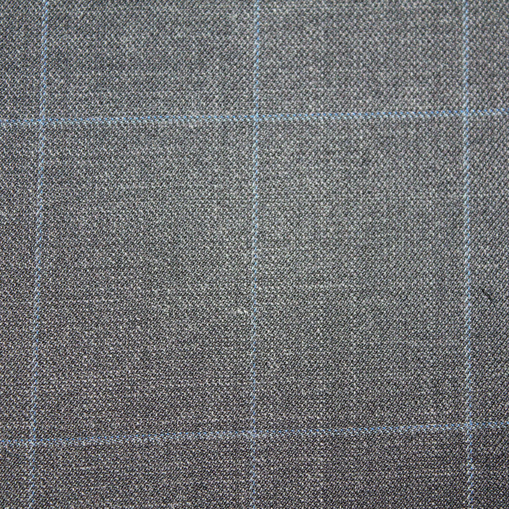 High Quality Grey Merino Wool Interlock Fabric
