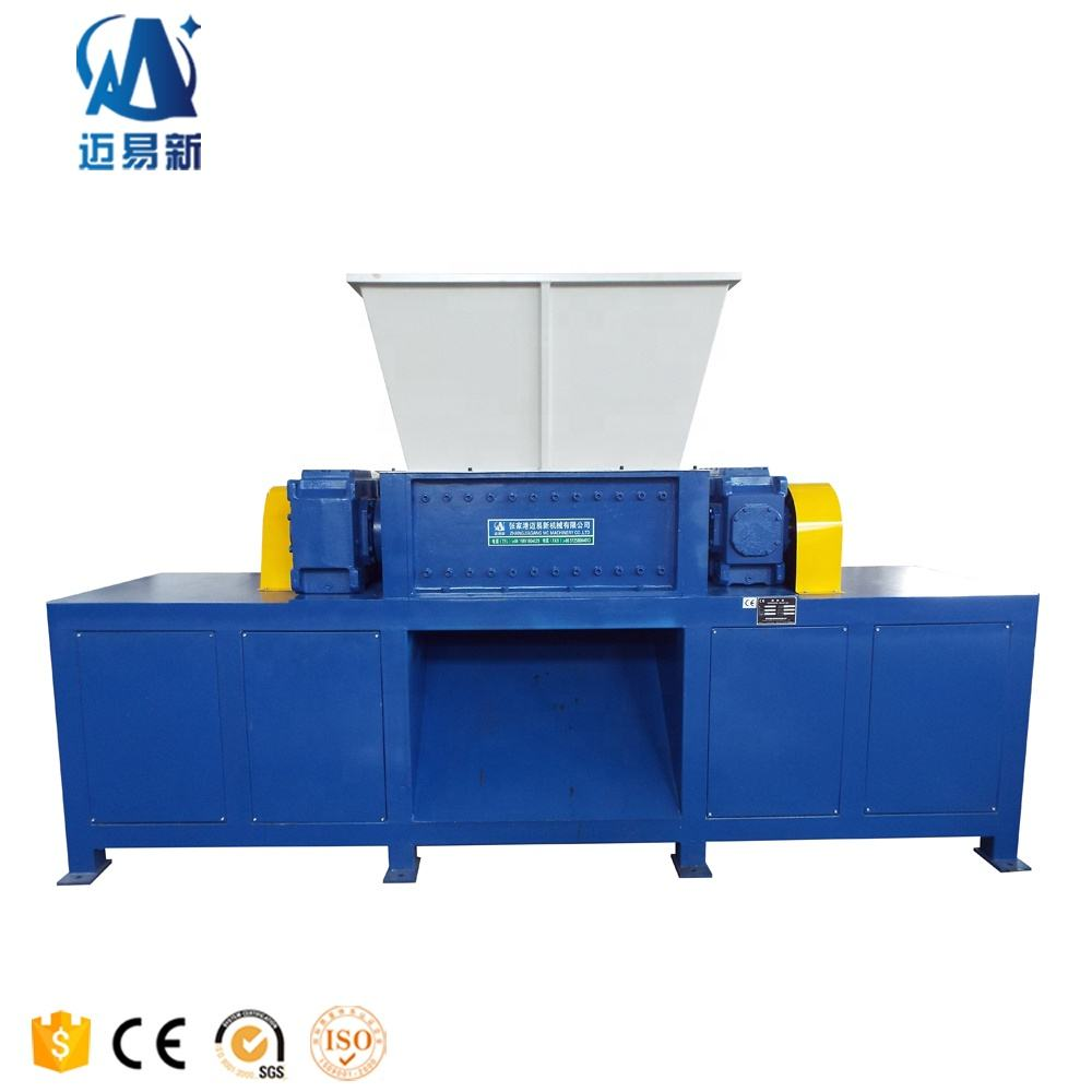 New design of Blade Industry Plastic Crate Double Shaft Shredder