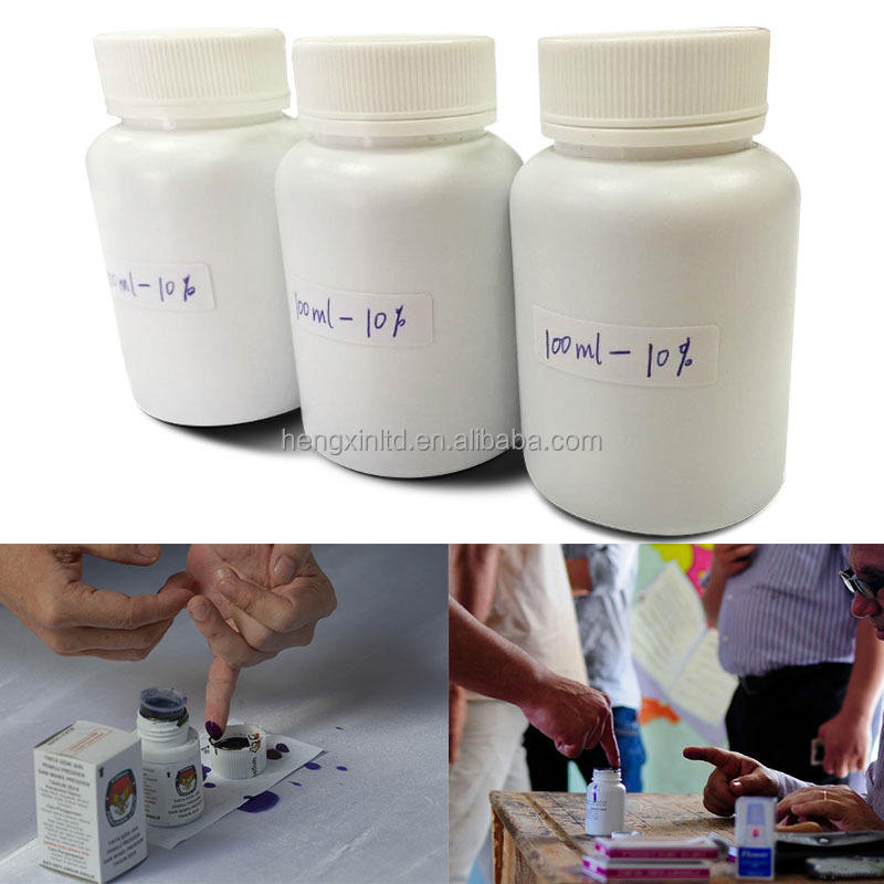 30ml Indelible Ink Election Ink With Violet Color