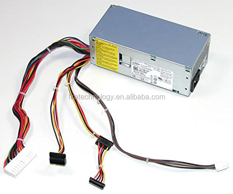 Para Dell W206D 250 W 24 pines ATX PSU Delta Electronics DPS-250AB-35A