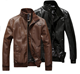ZY0813A wholesale new design leather motorcycle jacket