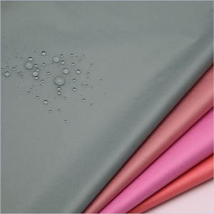Recycled 100% polyester dobby fabric taffeta fabric