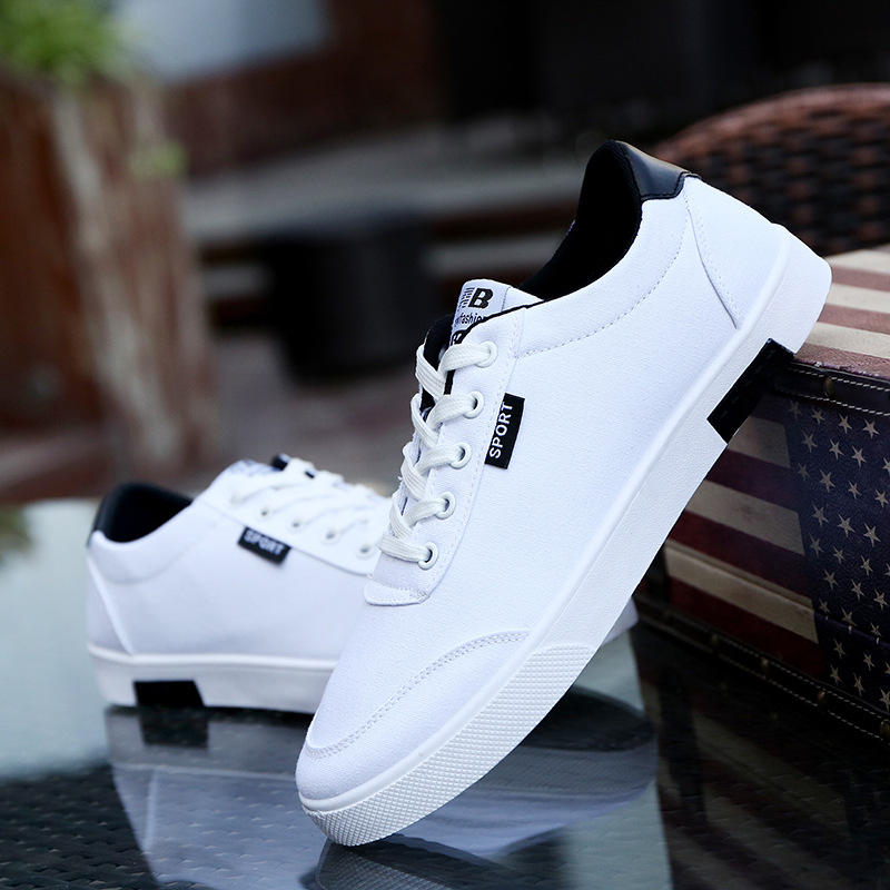 Hot Style Fashion Breathable Sport Casual Canvas Shoes For Men