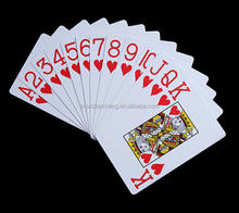 2020 new High Quality Wholesale custom logo  Personalized Paper or Plastic pvc  Playing Cards