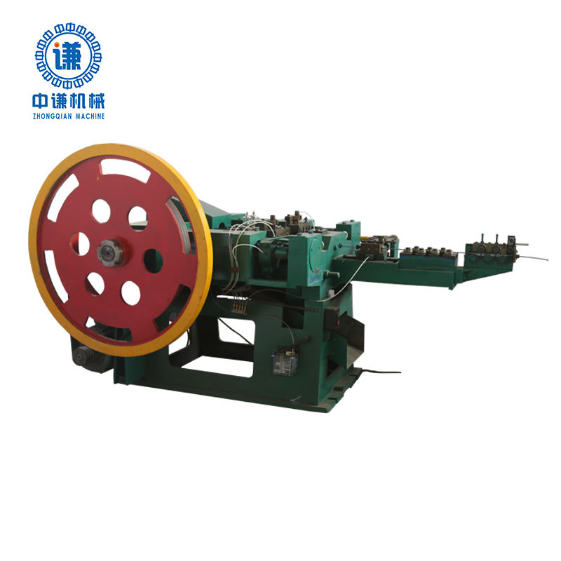 High capacity auto common steel iron nail making machine(factory)