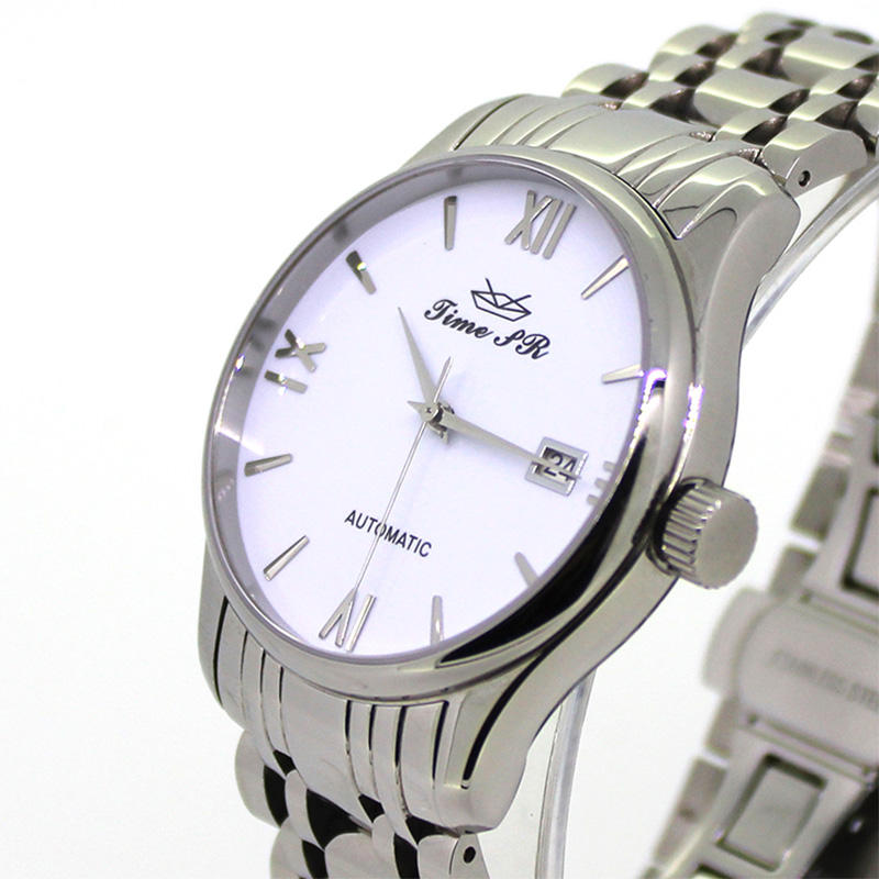 3ATM Water Resistant Custom Stainless Steel Band Watch