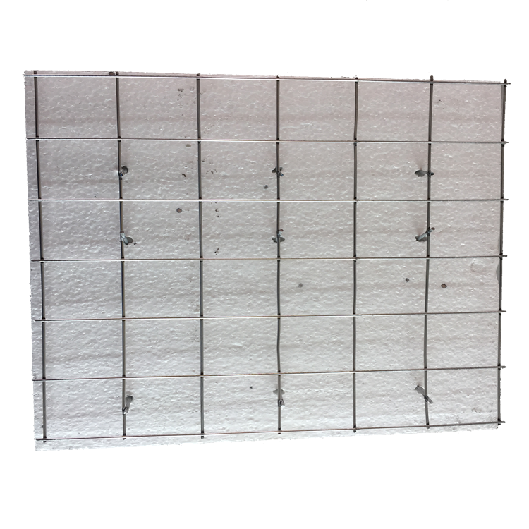 HOT SALE EVG 3D Sandwich EPS Welding Wire Mesh Panel With ISO
