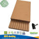 Golden teak color Outdoor wpc swimming pool decking floor