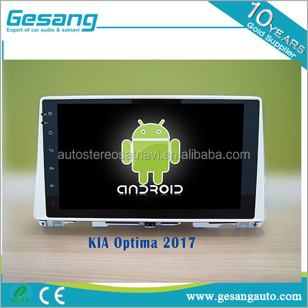 2 din autoradio android 6.0 lettore dvd dell'automobile per Kia Optima 2017 con telecamera per la retromarcia GPS BT DVR <span class=keywords><strong>IPOD</strong></span> TV 3G WIFI AM/FM