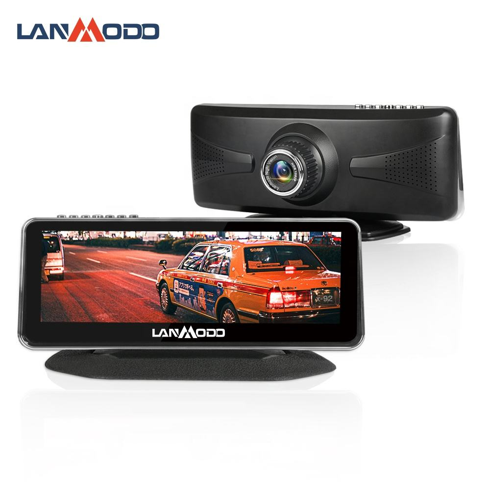 Lanmodo Vast Car Dash กล้อง 1080 P Night Vision ภาพ