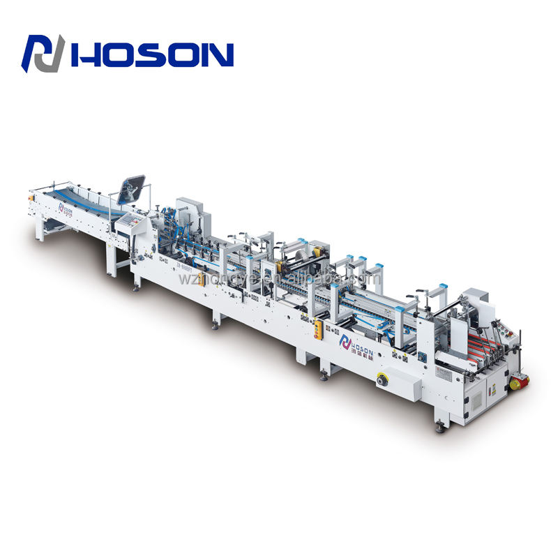 Cardboard Box Forming Machine ZH-880BFT Automatic Bottom Lock Type 3 Point Cardboard Box Forming Machine