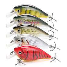 VTAVTA 8cm 12g Crankbaits Set for Bass Fishing Lures Hard Baits Topwater Lures Crank Bait Kit Fishing Tackle