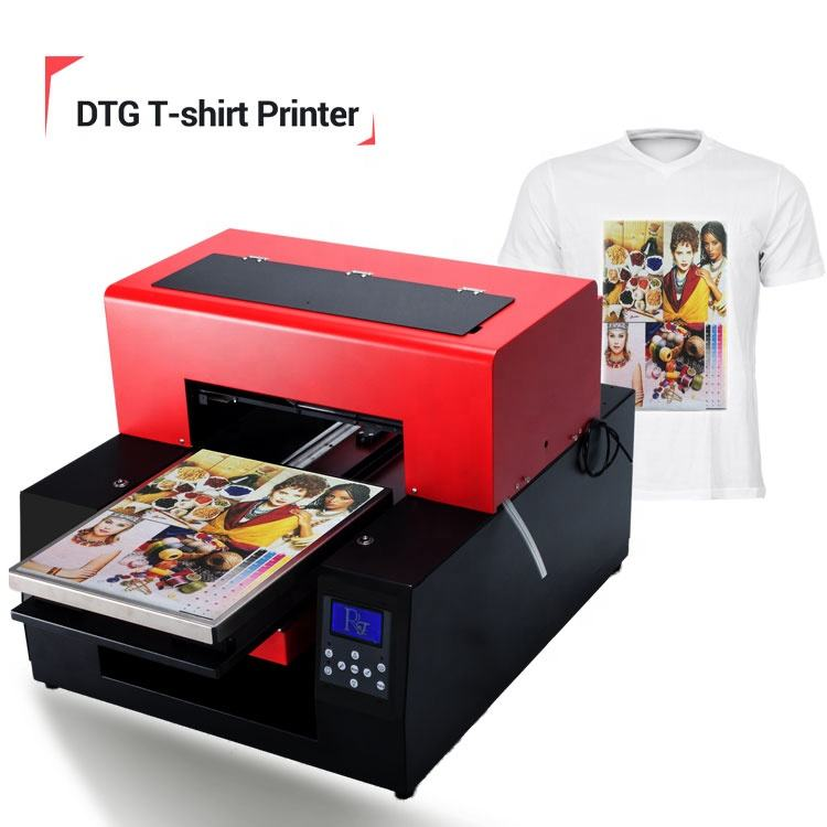 Cheap Direct To Garment Printer A3 33cm*60 Dtg Cotton T-shirt Printing Machine With One Free Computer