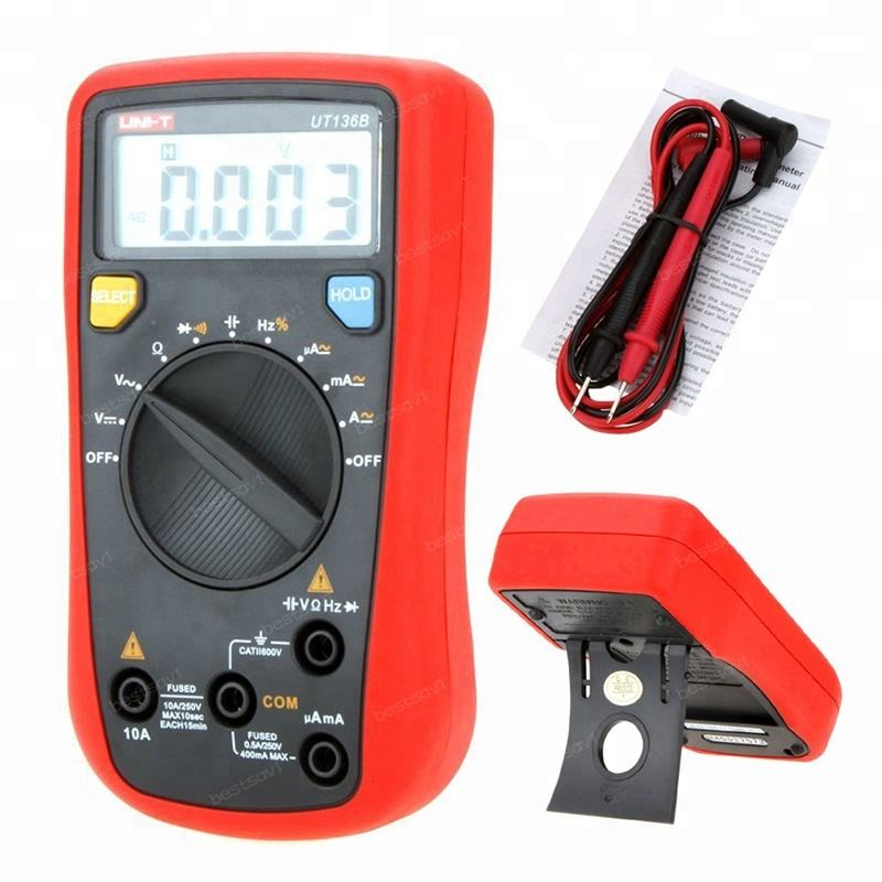 BEST (HIGH) 저 (QUALITY UNI-T UT61A Electrical Handheld 테스터의 UT61A Auto Manual 레인 징 현대 Digital 멀티 미터로 AC DC Meter
