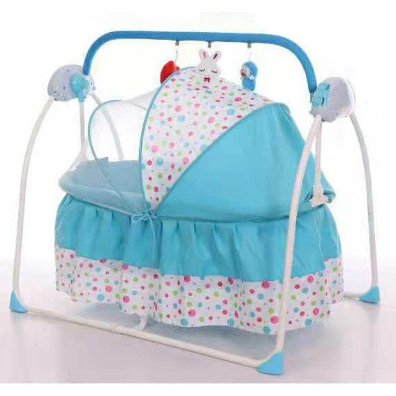 outdoor baby electric sleeping rocking bed kids crib with music