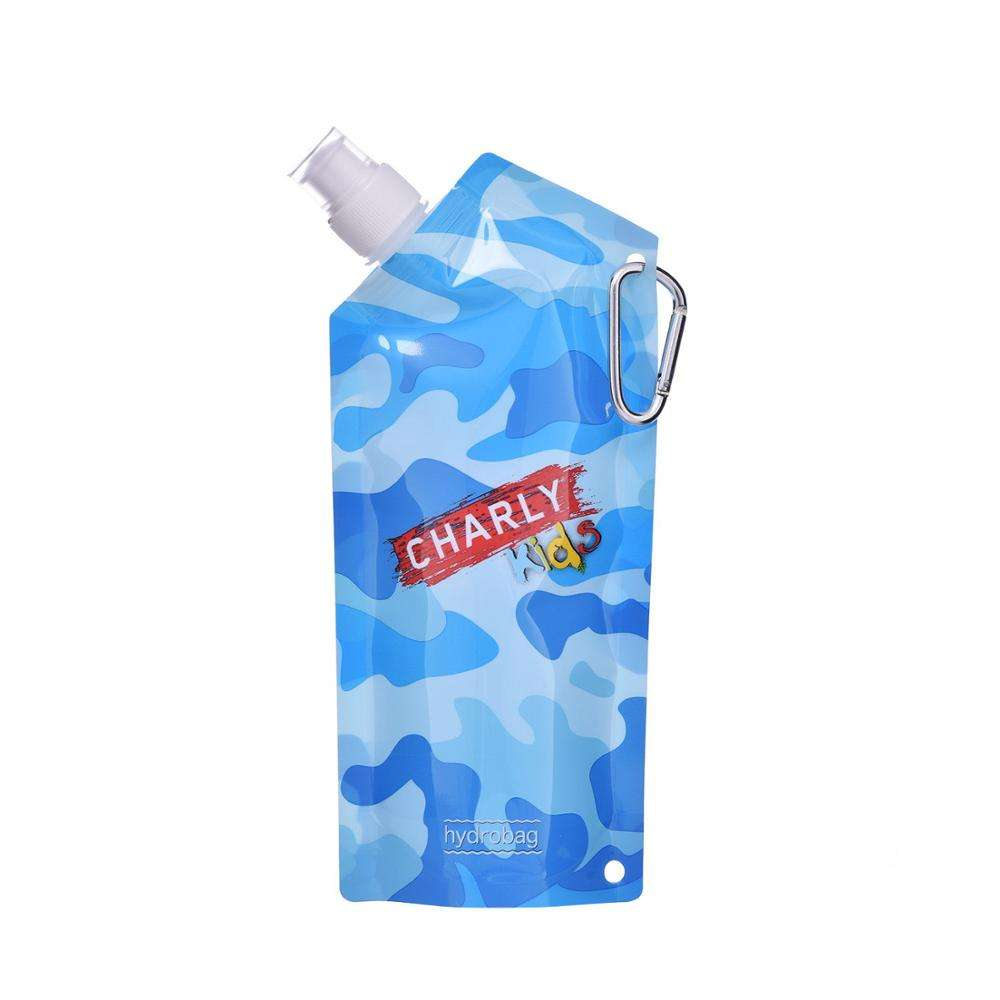500 Ml stand up Juice pouch Bag with spout Water spout bag with Cap